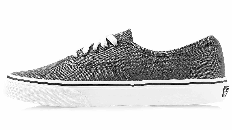 Vans Authentic B01M31NCWU Unisex Skate Trainers Shoes B01M31NCWU Authentic 10.5 B(M) US Women / 9 D(M) US Men|Pewter/Black e7ac9f
