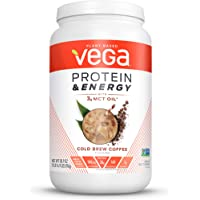 Vega Protein & Energy, Plant Based Coffee Protein Powder, Cold Brew Coffee, 30.9 Oz