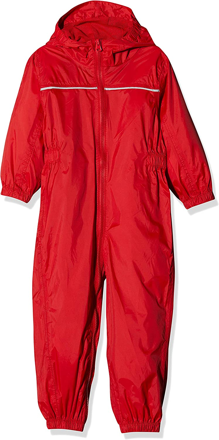 Classic Red 24-36 Months Regatta Professional Baby//Kids Paddle All In One Rain Suit
