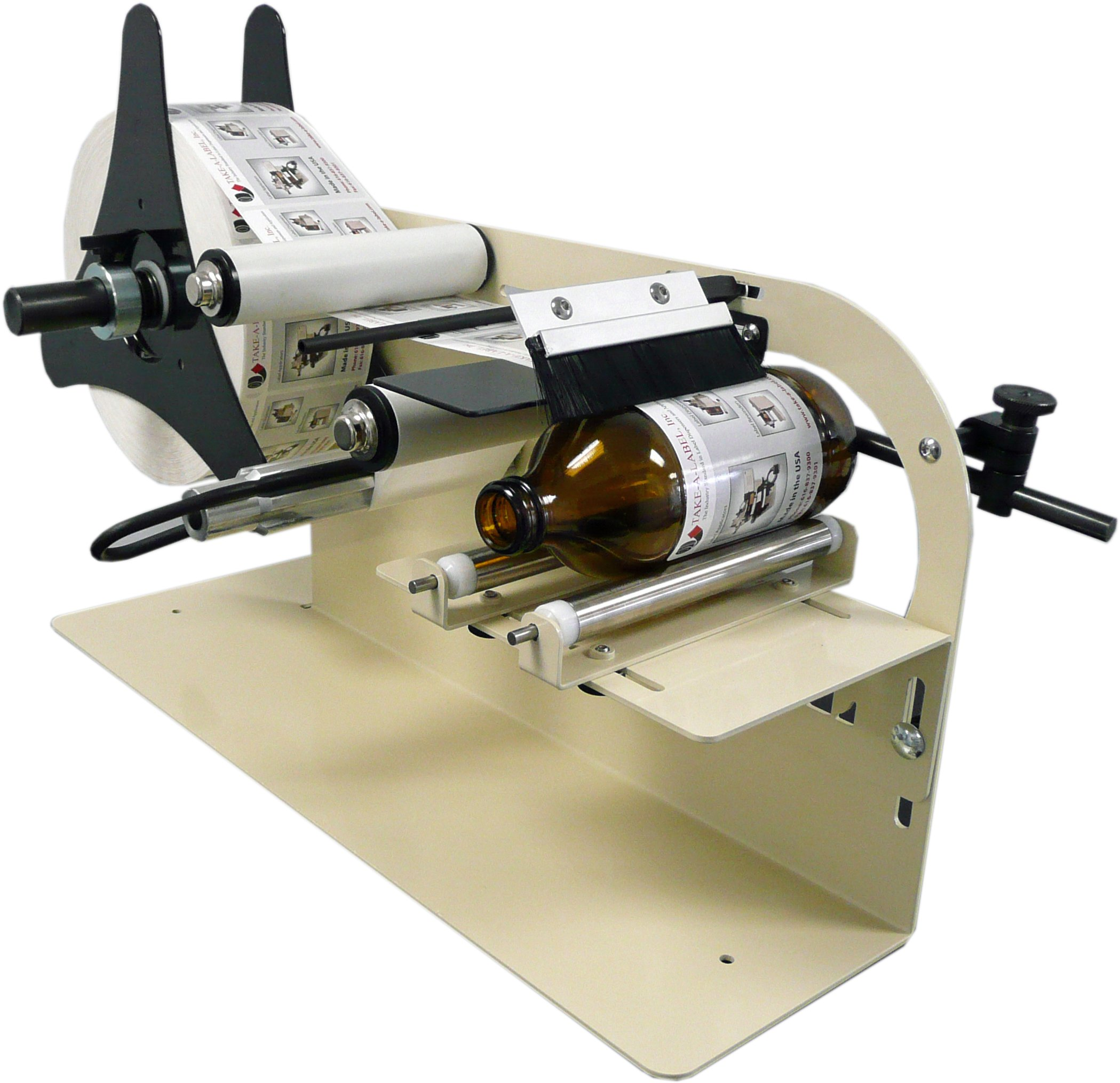 Take-a-Label TAL-1100MR Manual Round Product Label Applicator