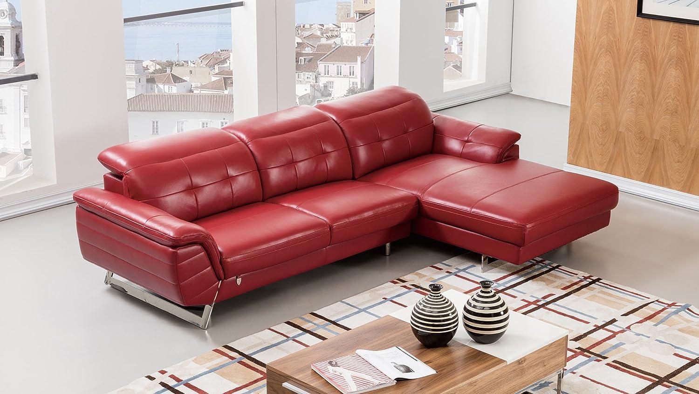 Amazon.com: American Eagle Furniture EK-L085L-RED Kentucky ...