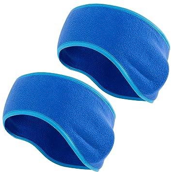 ALPIDEX Stirnband 2 St/ück Set Headband Warme Sport Stirnb/änder One Size