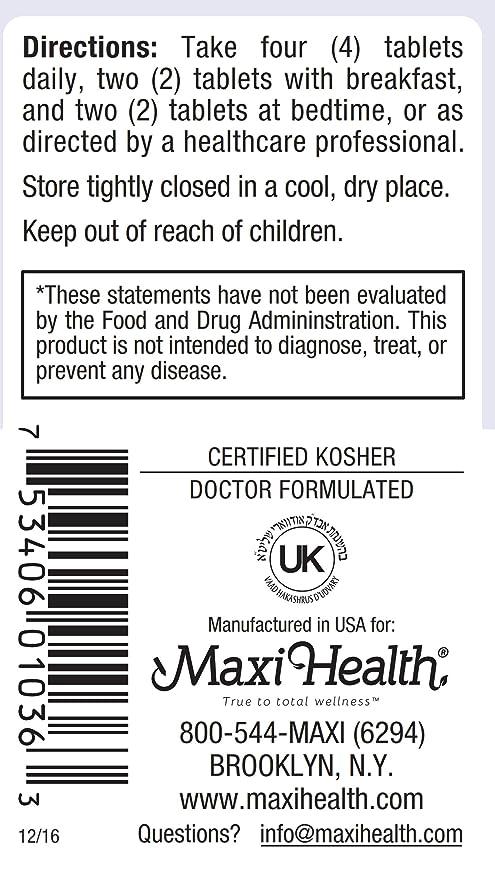 Maxi salud Cal-Max Calcio Citrato con Vitamina D3 y Magnesio: Amazon.es: Salud y cuidado personal