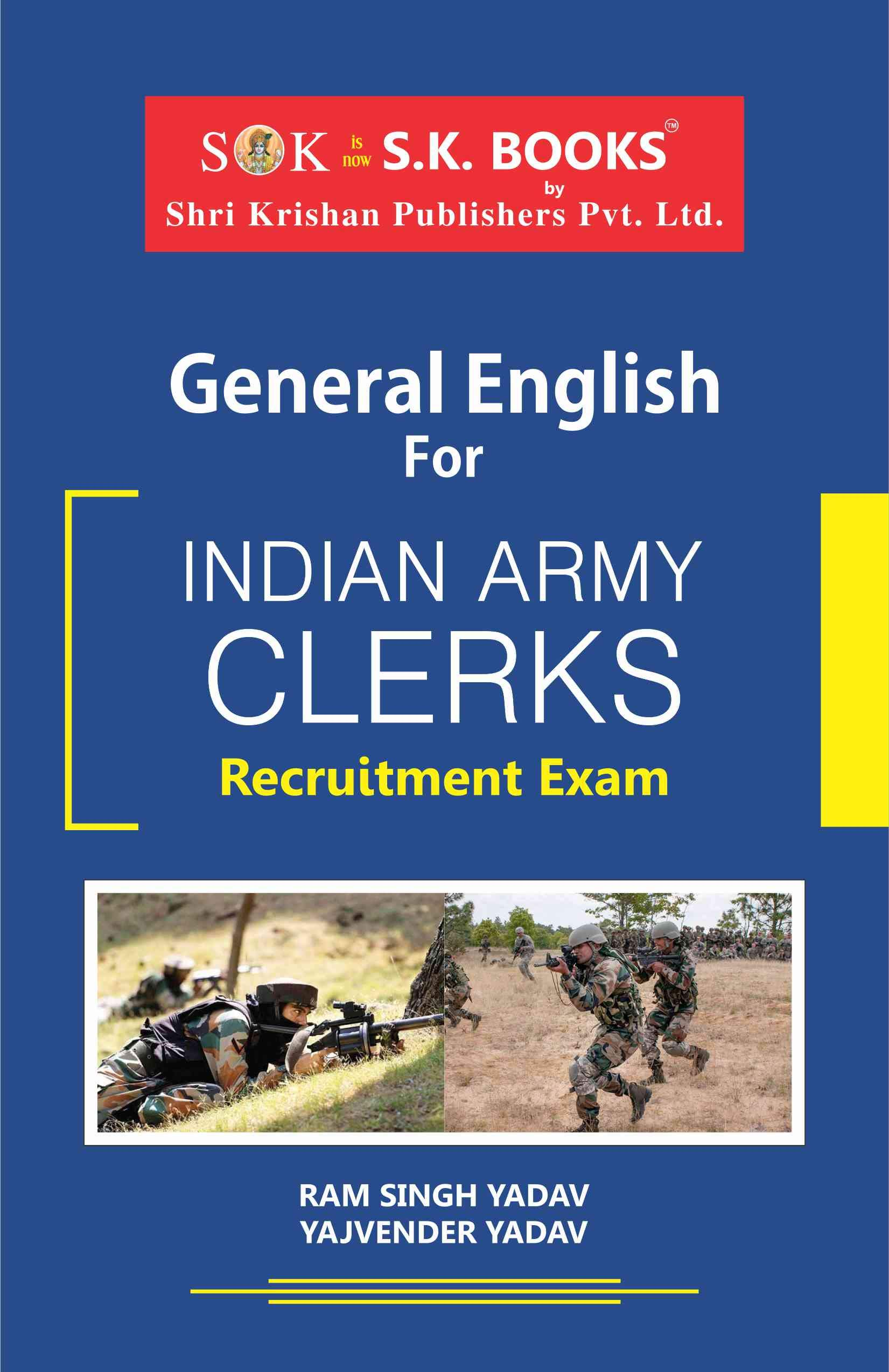 Buy General English for Indian Army Clerks Book Online at