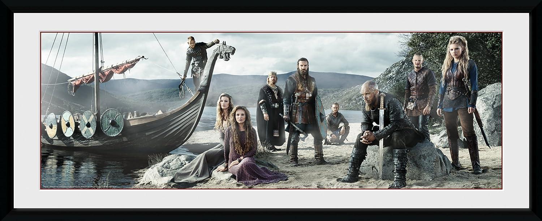 GB Eye LTD, Vikings, Playa, Fotografía enmarcada 30x75 cm: Amazon ...