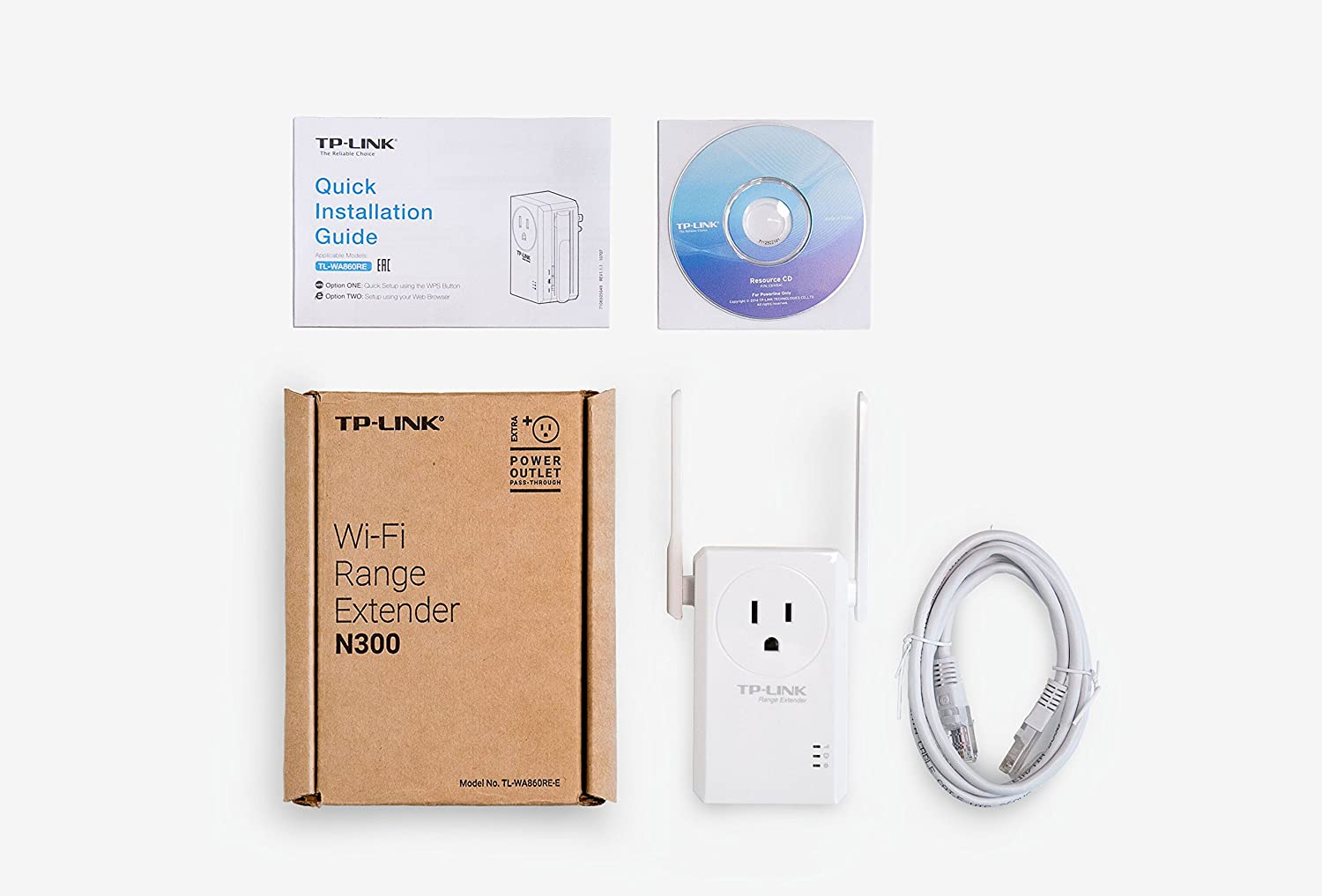 Tp Link N300 Wi Fi Range Extender With Pass Through Outlet Tl Wa860re 300mbps Wifi Ac Passthrough E Buy