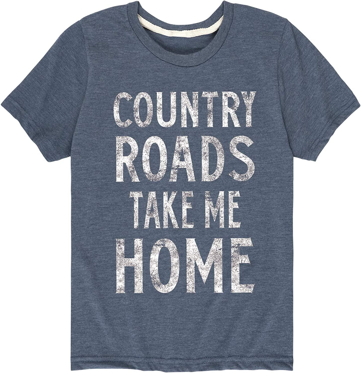 Country Roads Take Me Home - Youth Short Sleeve Graphic T-Shirt
