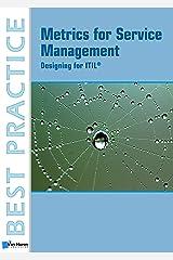 Metrics For Service Management: Designing For ITIL Paperback