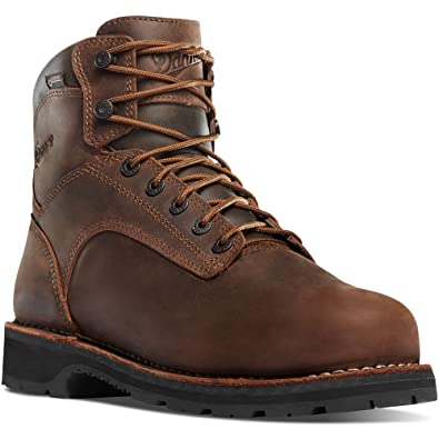 "Danner Men's Danner Light II 6"" Boot Brown 11 D & Knit Cap Bundle"