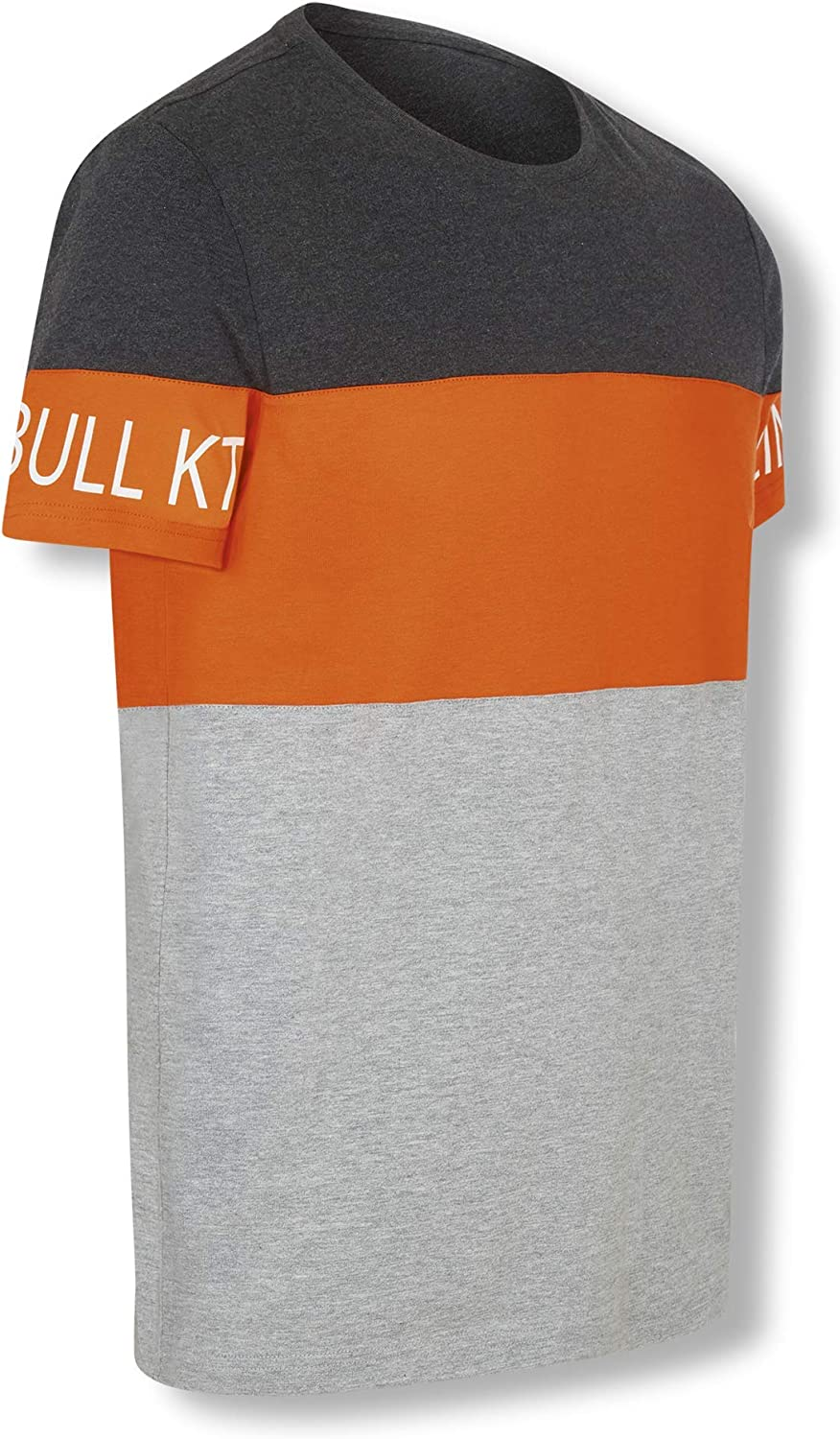 Red Bull KTM Letra Block T-Camisa, Gris Hombres X-Large Camisa ...