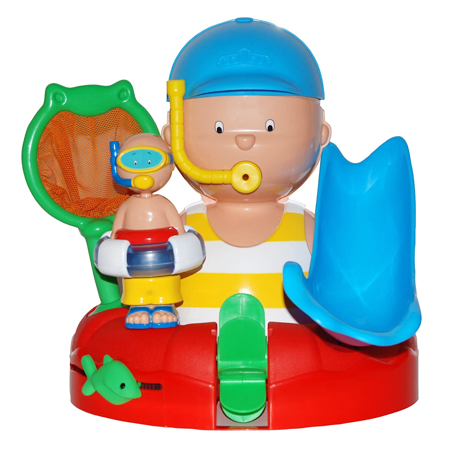 Amazon.com: Caillou Bath Time with You Activity Set: Toys & Games