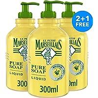 Le Petite Marseillais Olive Oil Liquid Hand Soap, 300 ml Pack of 3