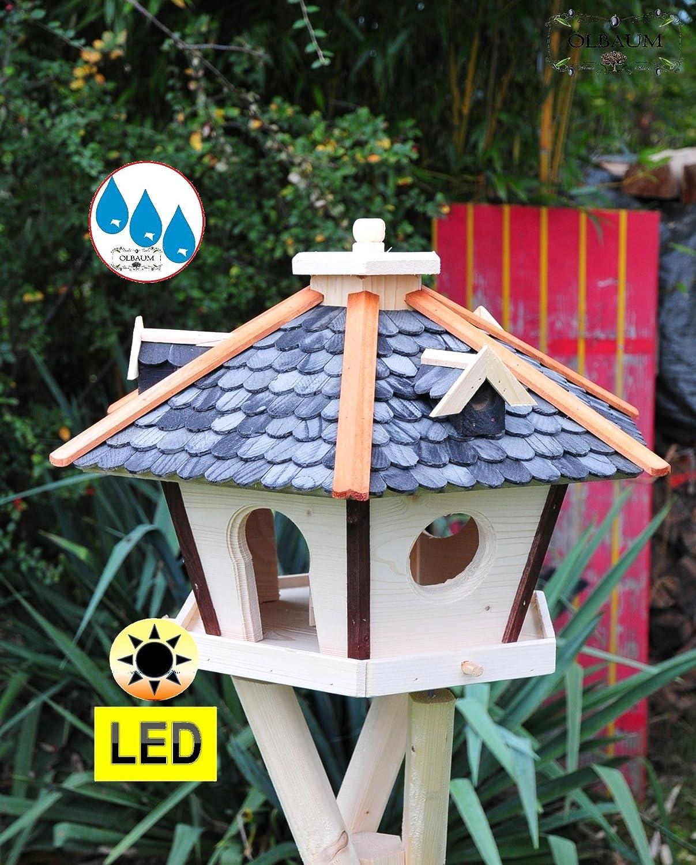 Vogelhauschen Vogelhaus Mit Bitumschindeln Behandelt Mit