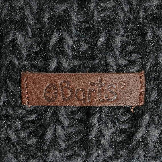 6f0e24a6a624e BARTS Gorro de Niño Rhett by puntogorro Beanie (Talla única -  Antracita-Rojo)  Amazon.es  Ropa y accesorios