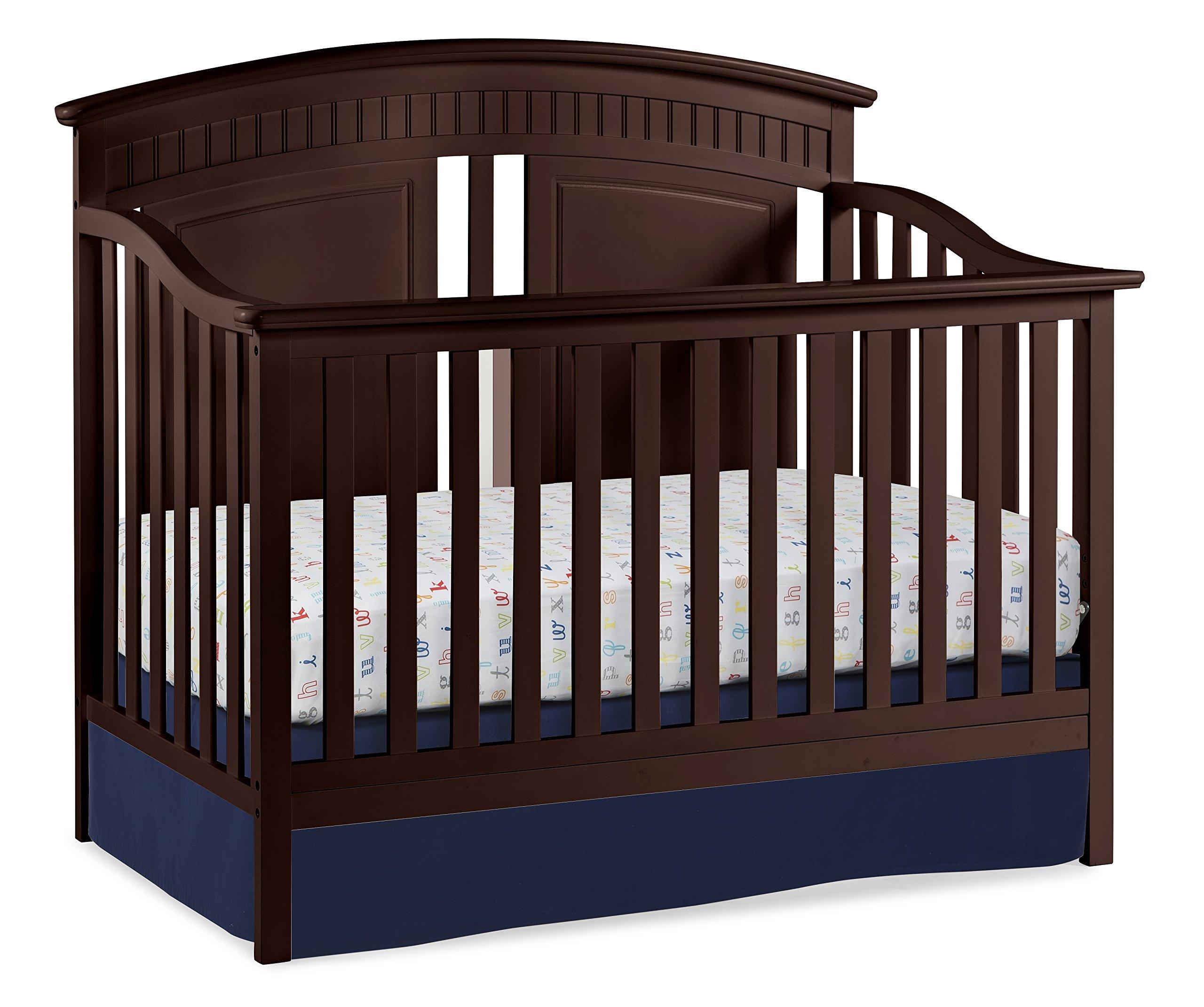 Thomasville Kids Majestic 4-in-1 Convertible Crib, Espresso
