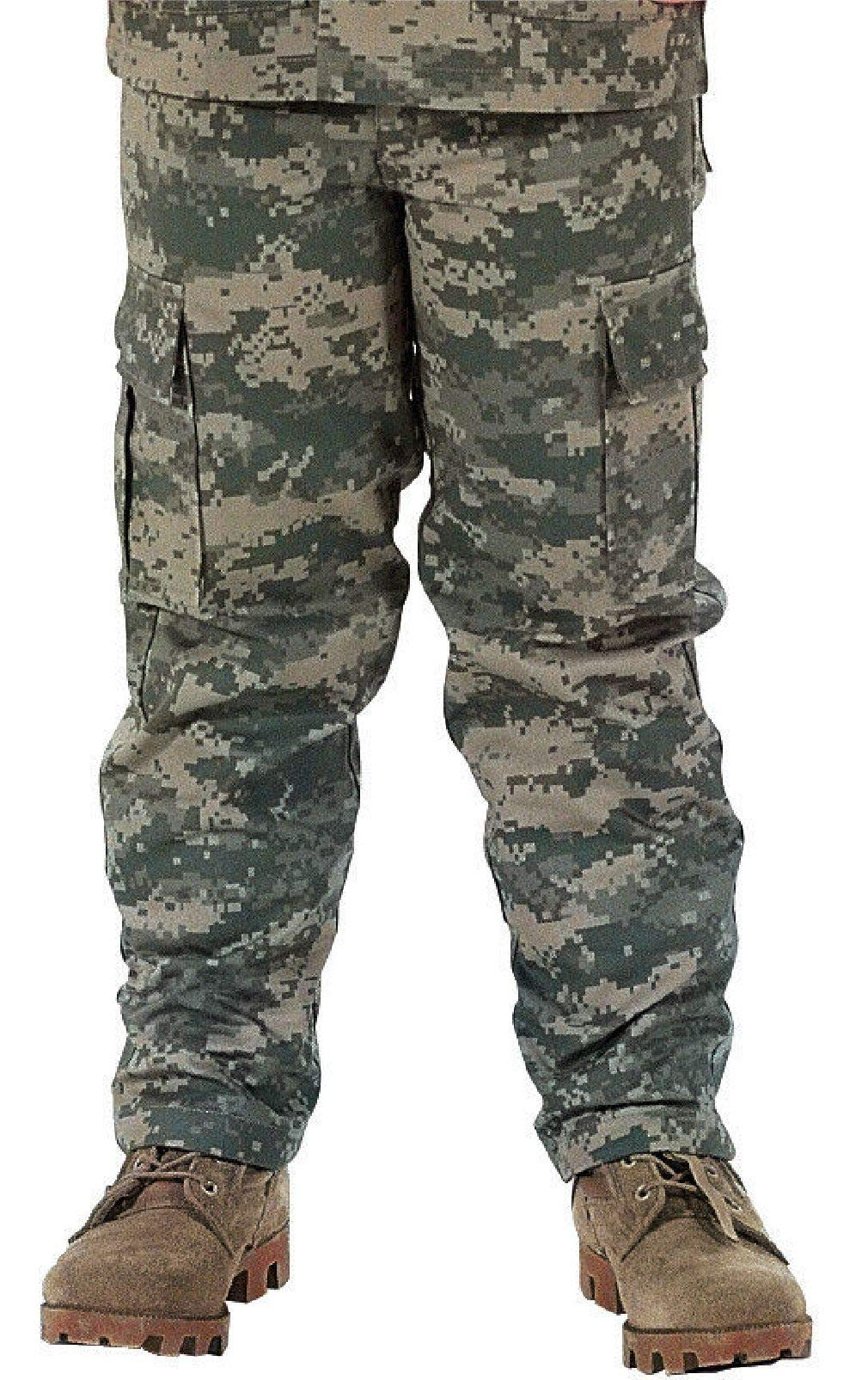 BlackC Sport Kids BDU Cargo Fatigue Pants Camouflage Military