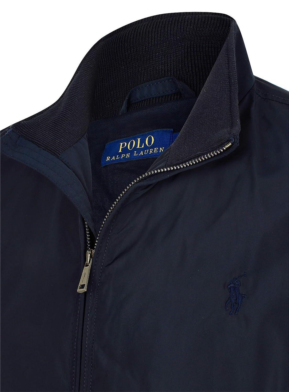 64e118b5b6cf Ralph Lauren Polo Jacket Stockport Barracuda Mens Black  Amazon.co.uk   Clothing