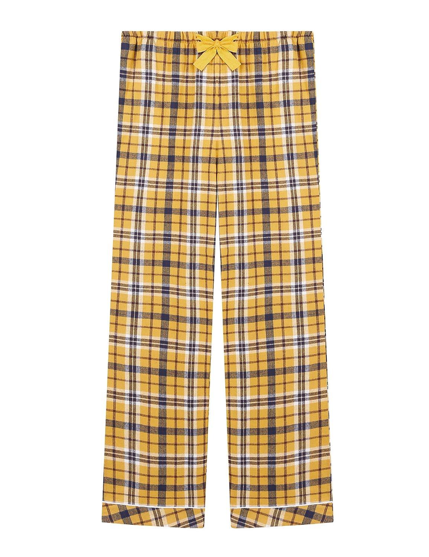 Womens Cotton Flannel Plaid Pajama//PJ//Lounge//Sleep Pants//Bottoms