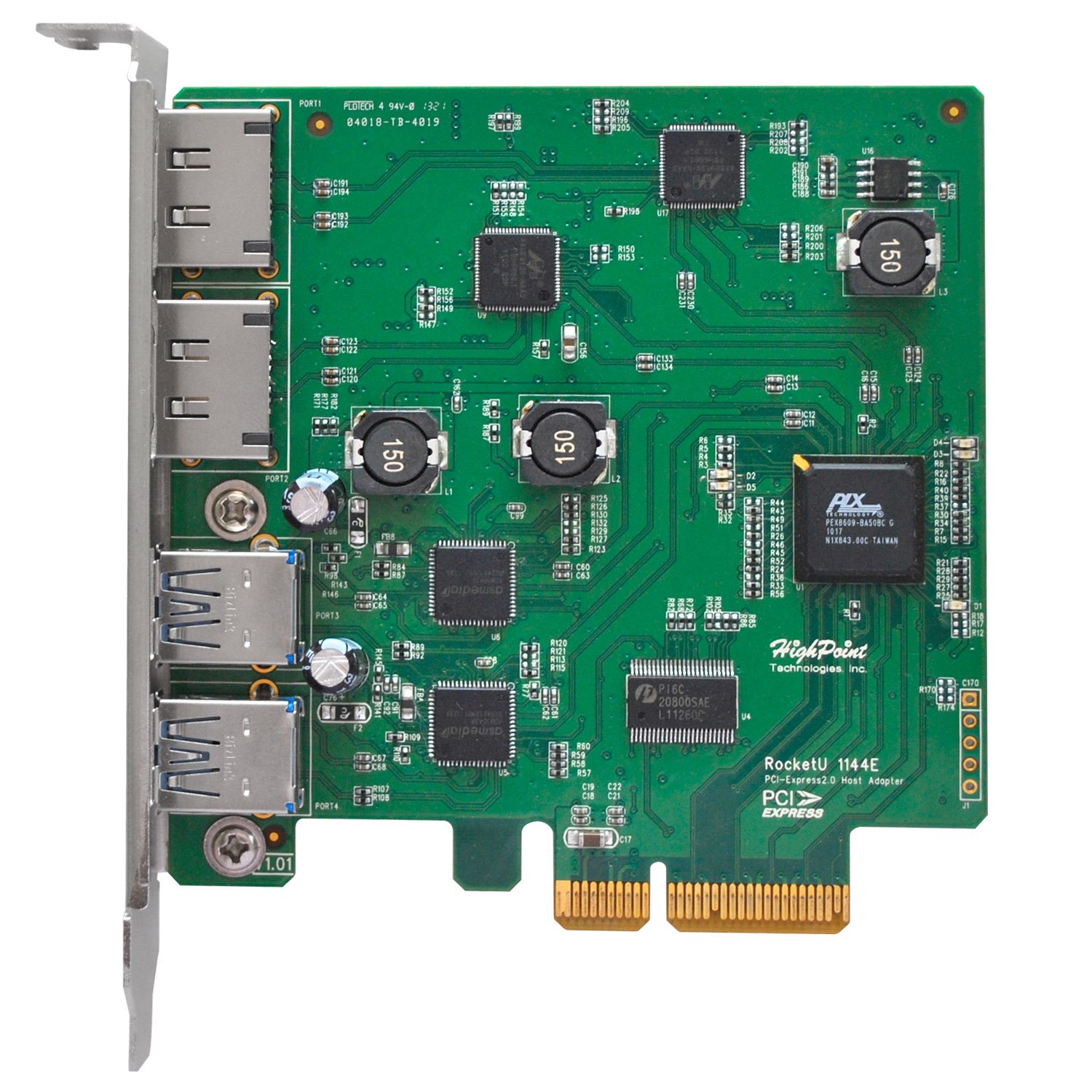 High Point Versatile Connectivity For 5Gb/s USB 3.0 HB Contr
