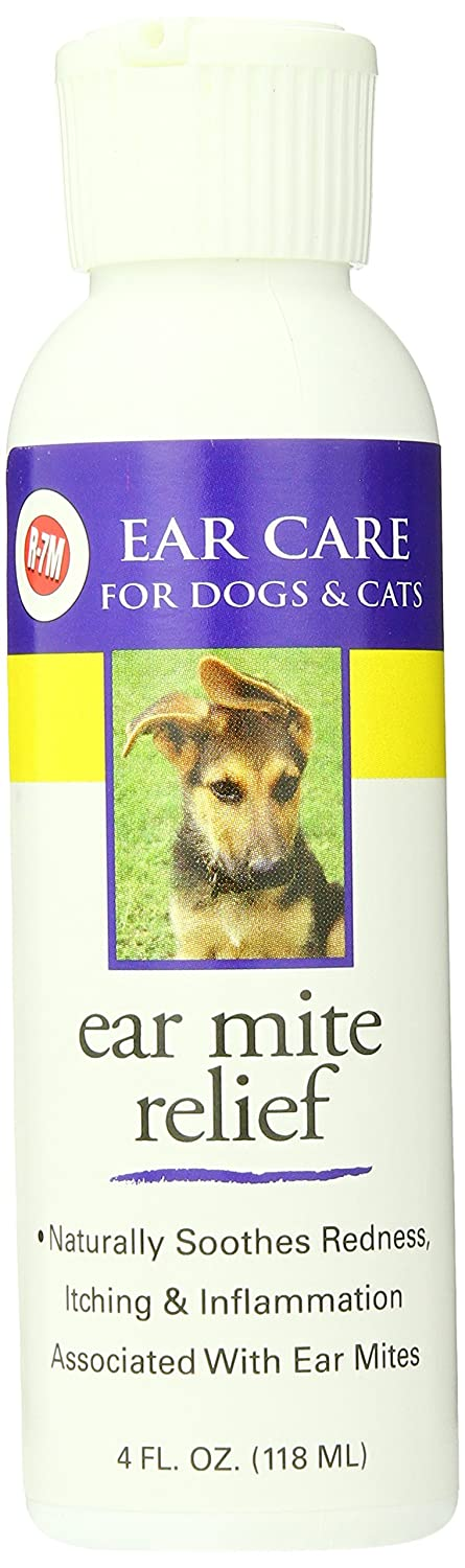 Miracle Care Ear Mite Relief Resealable Bottle, 4-Ounce Gimborn Products 424204