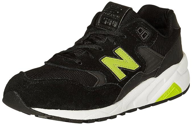 New Balance, Zapatillas para Hombre, Negro (Black MRT580NF), 42 EU