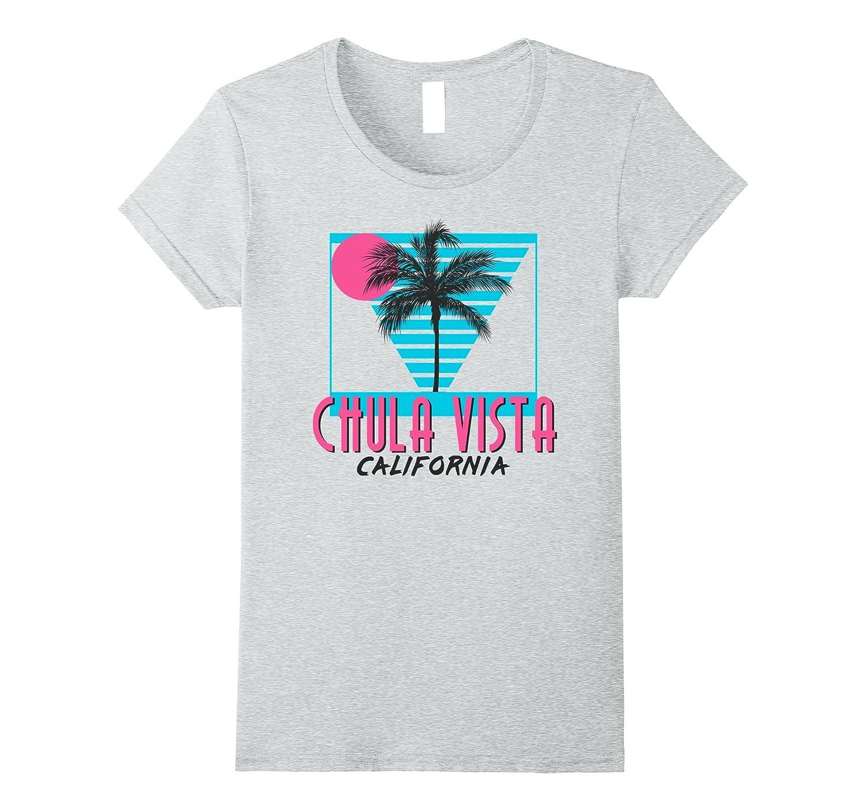 Womens Chula Vista California Shirt-Samdetee