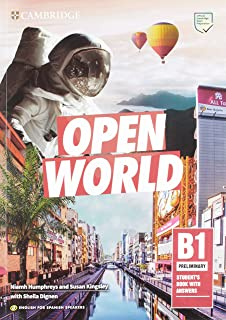 Open World Preliminary Students Pack Students Book without Answers and Workbook without Answers English for Spanish Speakers: Amazon.es: Niamh Humphrey. Susan Kingsley. Dignen, Sheila, Dymond, Sarah: Libros