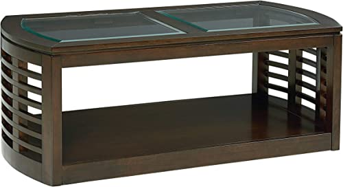 Standard Furniture Accolade Coffee Table, 52 W x 26 D x 19 H, Brown