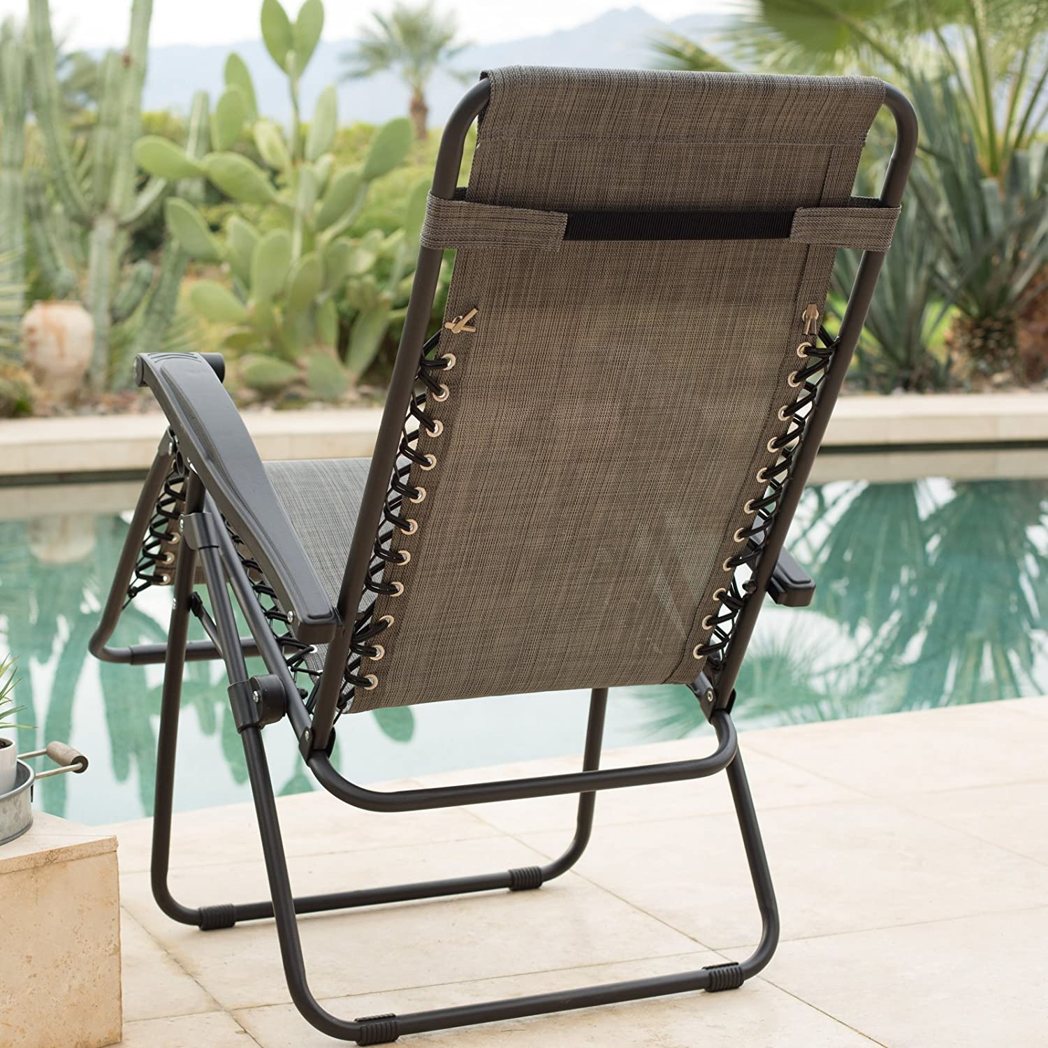 Amazon.com : Caravan Sports Zero Gravity Lounge Chair : Garden U0026 Outdoor