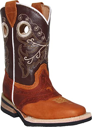 Boys Cowboy Boots Kids Western Square