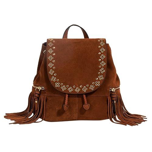 Parfois - Mochila Dakota - Mujeres - Tallas M - Camel: Amazon.es: Zapatos y complementos