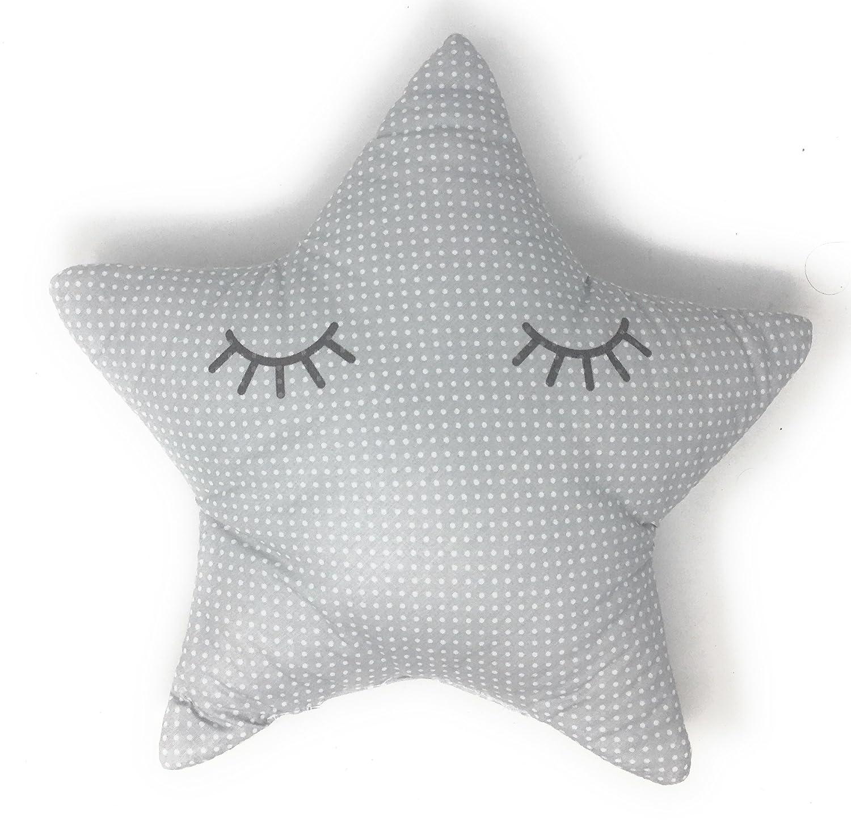 Cojin Decoración Diseño Estrella Durmiendo Ideal para cuna ...