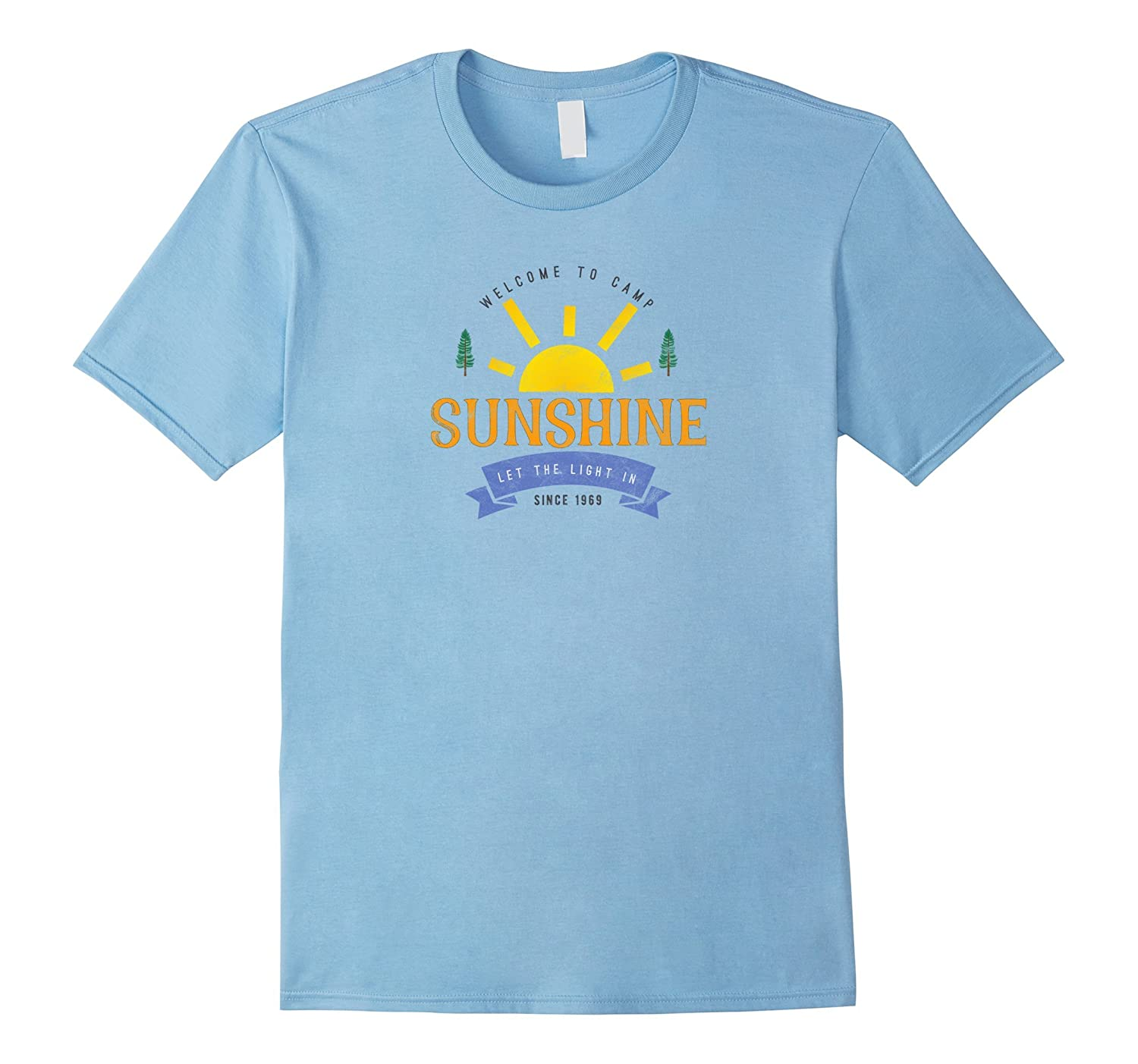 Camp Sunshine Summer Camp Staff T-Shirt, Retro Summer Camp-T-Shirt