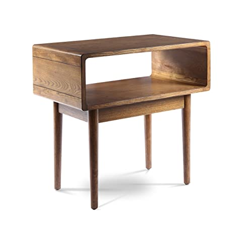 Posh Pollen Darden Mid-Century Modern Side Table – Walnut