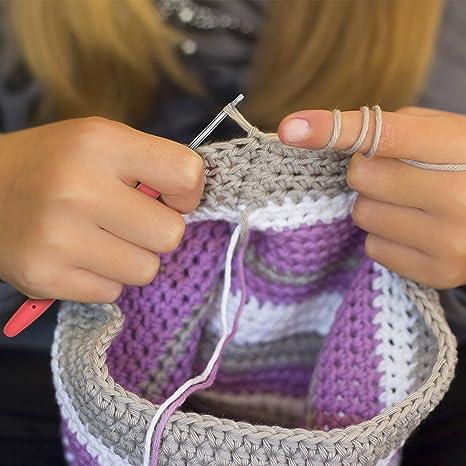 Crochet Motif Fleuri Taille 2.5 mm 5 mm