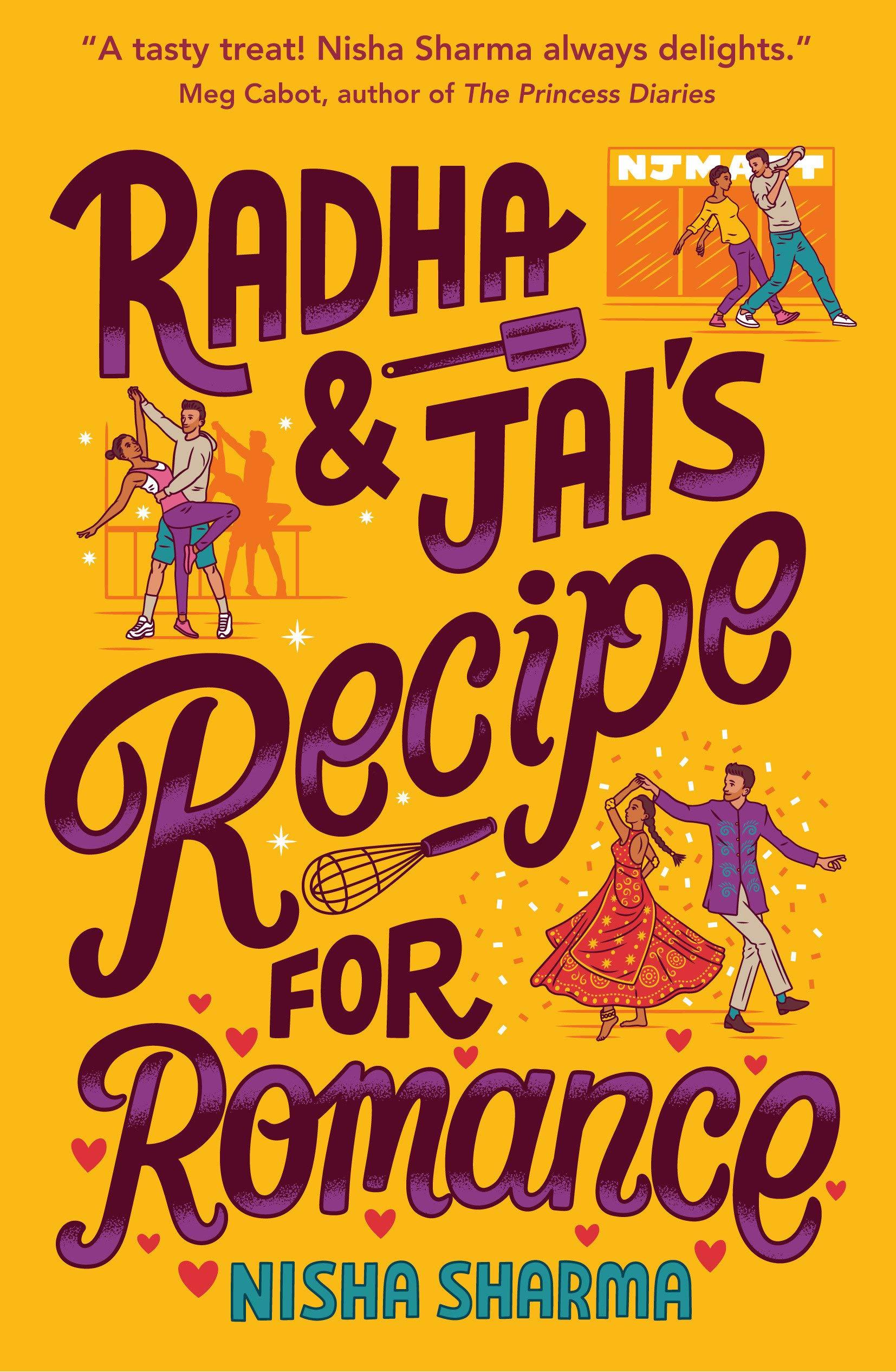 Amazon.com: Radha & Jai's Recipe for Romance (9780553523294): Sharma,  Nisha: Books