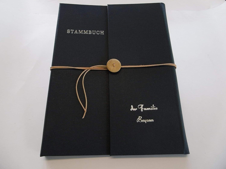 Stammbuch by BOOK ART personalisiert B075GV11B4       Authentische Garantie