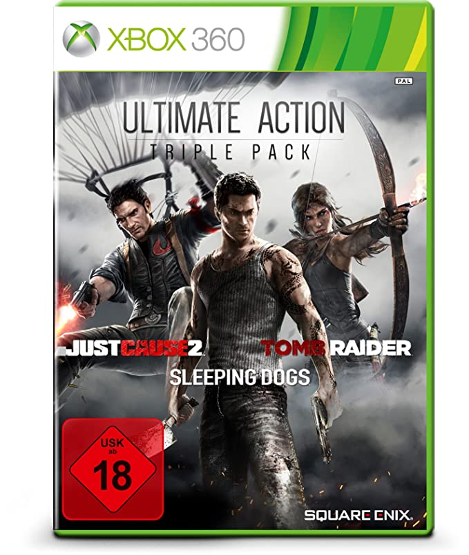 Ultimate Action Triple Pack - Tomb Raider, Just Cause 2, Sleeping ...