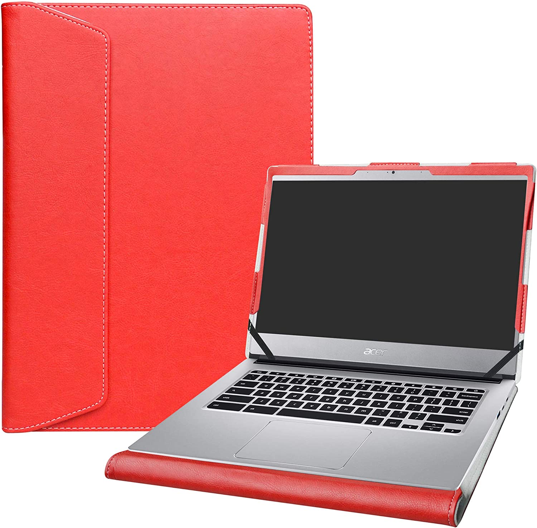 "Alapmk Protective Case Cover for 14"" ACER CHROMEBOOK 514 CB514-1HT CB514-1H & Lenovo ideapad S340 S340-14API S340-14IWL Laptop [Note:Not fit Acer Chromebook 14 CB3-431/FOR Work CP5-471],Red"
