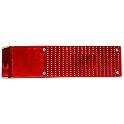 Grote 52372 RH-Red Large Wrap-Around 5 Function Rear Light: Automotive