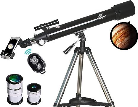 Telescopio Astronomy Refractor Telescopios, Alcance de 70 mm ...