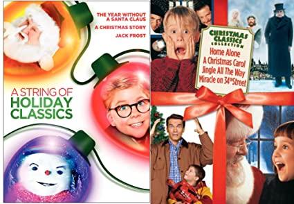 home alone christmas classics collection miracle on 34th street carol jingle all the way a - Home Alone Christmas Movie