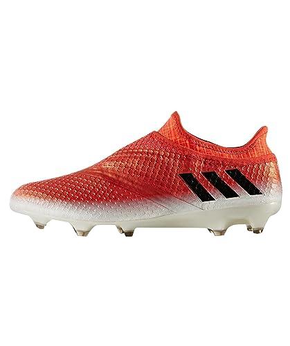 5cda128308e adidas Men s Messi 16+ Pureagility Red Limit Fg Football Boots ...