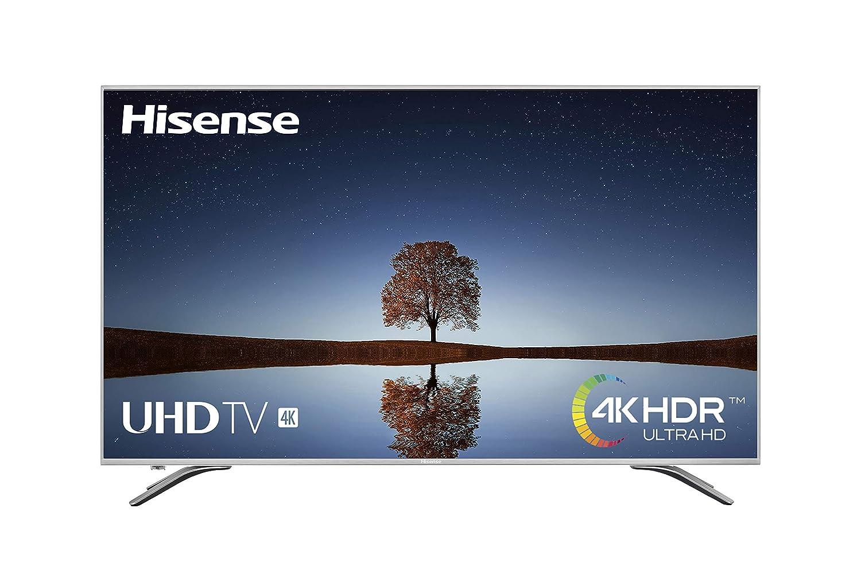 """Hisense H65A6500, Smart TV VIDAA U, Diseño Metálico, Modo Deportes, 4K Ultra HD, HDR, Precision Color, Super Contraste, Remote, WIFI Ethernet USB, 65"""", Negro [Clase de eficiencia energética B]"""