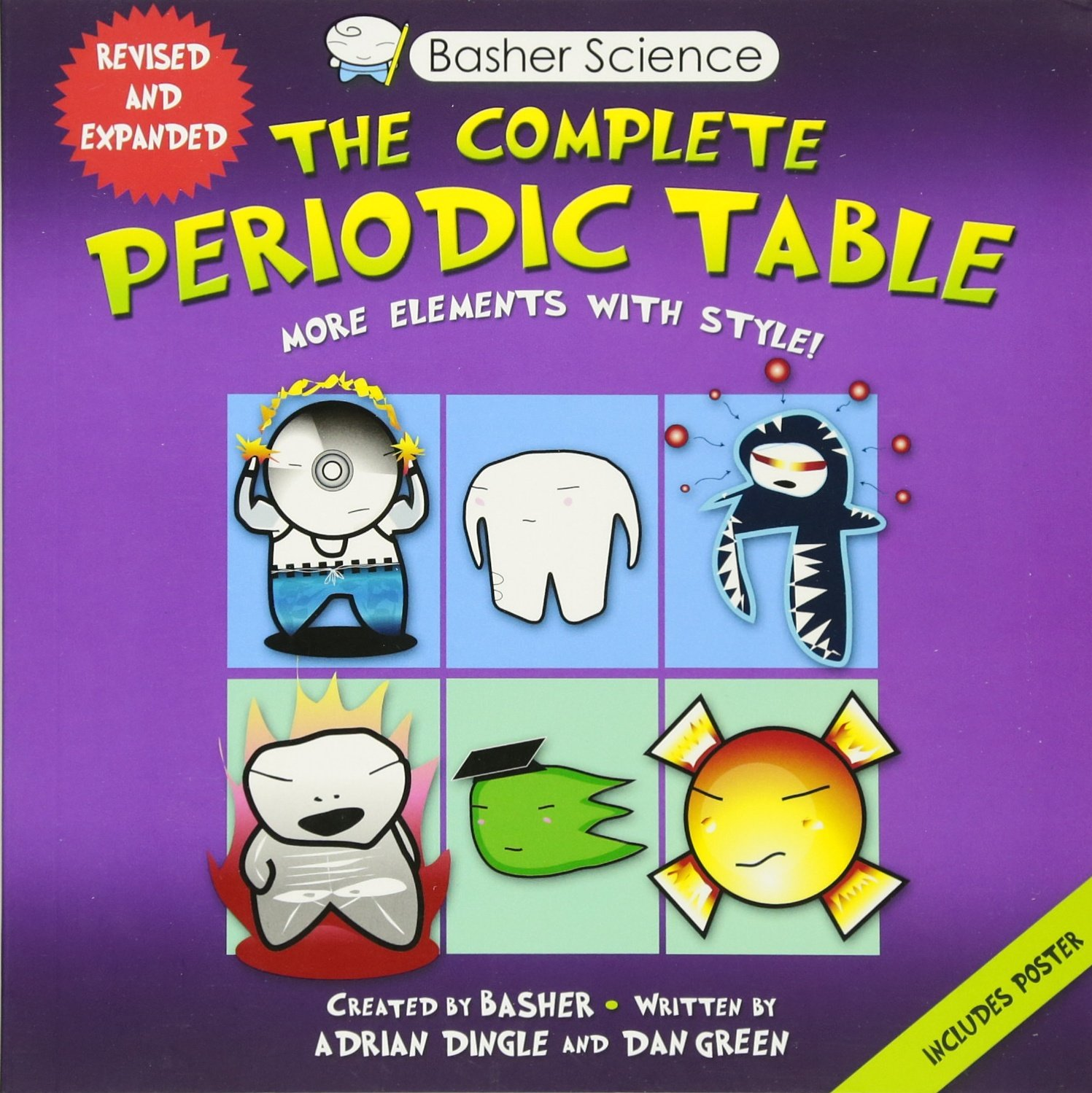 Amazon basher science the complete periodic table all the amazon basher science the complete periodic table all the elements with style 9780753471975 adrian dingle simon basher dan green books urtaz Choice Image