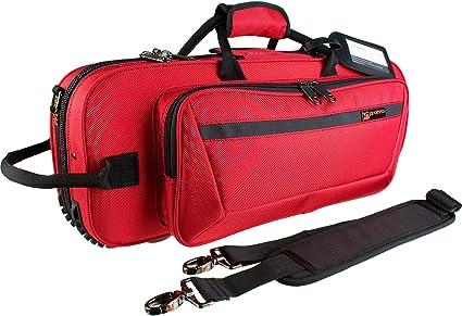 Protec PB301CTRX - Estuche para trompeta, color rojo: Amazon.es: Instrumentos musicales