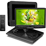 MYDASH Portable DVD Player 12.5 for Car and Kids, 2020 New cd Player Portable with 10.1-inch Swivel Display Screen, SD…