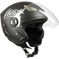 Westt® Jet · Casco Moto Jet Abierto para Motocicleta Ciclomotor y Scooter · Cascos de