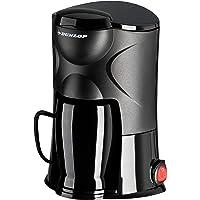 Dunlop - Koffiezetapparaat voor 1 kopjes - 170 W - ideaal voor op reis - aansluiting op sigarettenaansteker - voor auto…