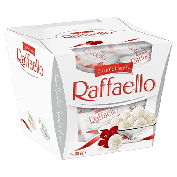 FERRERO bombones raffaello caja 150 gr